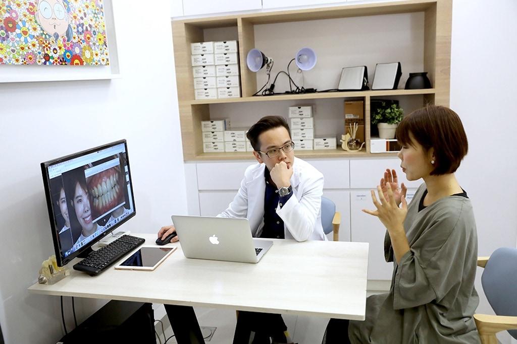 陶瓷貼片-吳國綸牙醫-患者諮詢-微笑設計